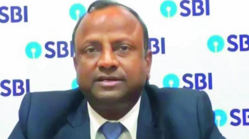 State Bank of India Chairman Rajnish Kumar.