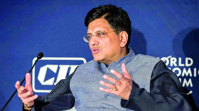 Piyush Goyal also praised PM Modi's way of doing his work continuously, and to take development to every single person across the field. (Photo: PTI)