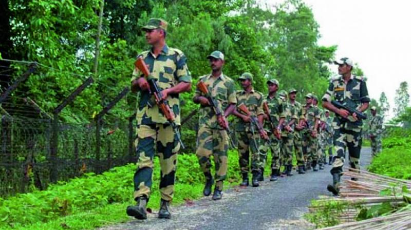 '(Pakistan) Rangers called up Jammu BSF formation today and beseeched to stop firing,' a BSF spokesman said. (Representational Image)