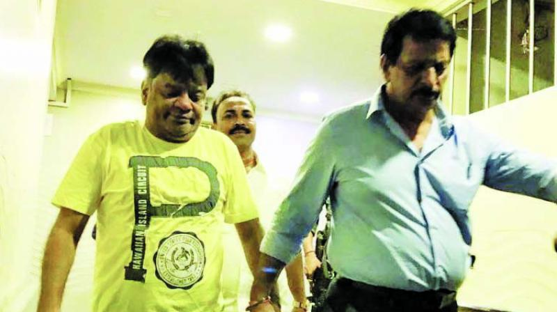 Iqbal Kaskar and two of his aides were arrested in September 2017 by the Thane police  in a separate case. (Photo: File)