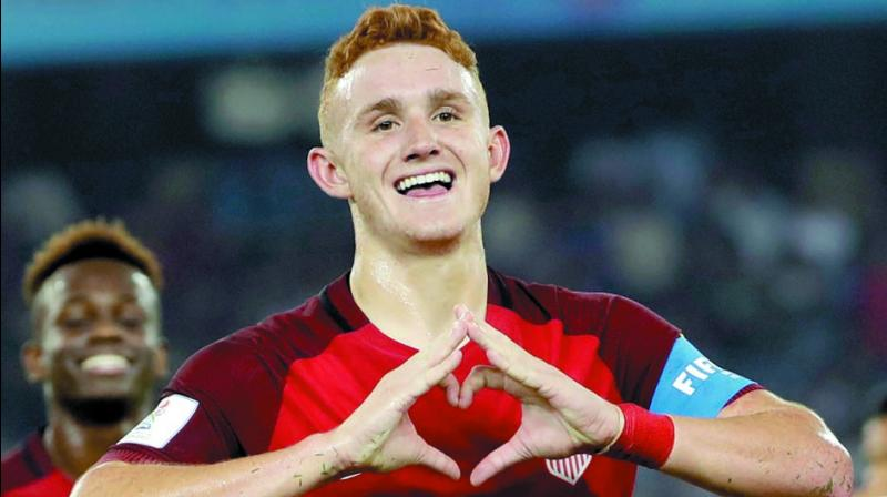 USA captain Josh Sargent is in good form. (Photo: AP)