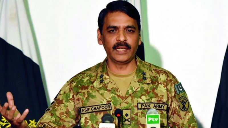 """Such false claims by the Indian Army are being made to suit vested domestic interests. This is against professional military ethos,"" Ghafoor said.   (Photo: File)"