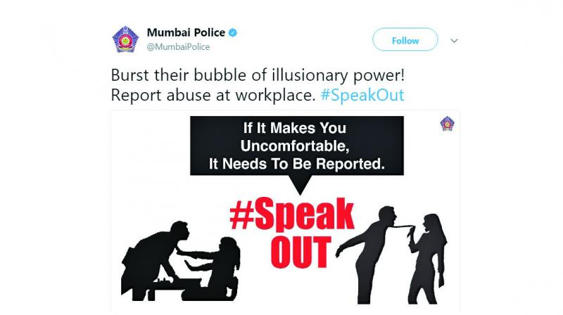 Currently, they are running a campaign to make people aware about sexual and verbal abuse at workplaces.