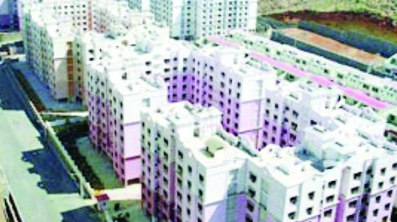 """Last year there were 91,000 applications but the number of flats were considerably higher too,"""" said Bhagwan Sawant, Chief Officer (Marketing)."""