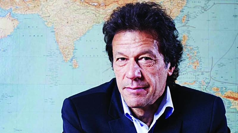 Pakistan Tehrik-e-Insaf (PTI) chief Imran Khan.
