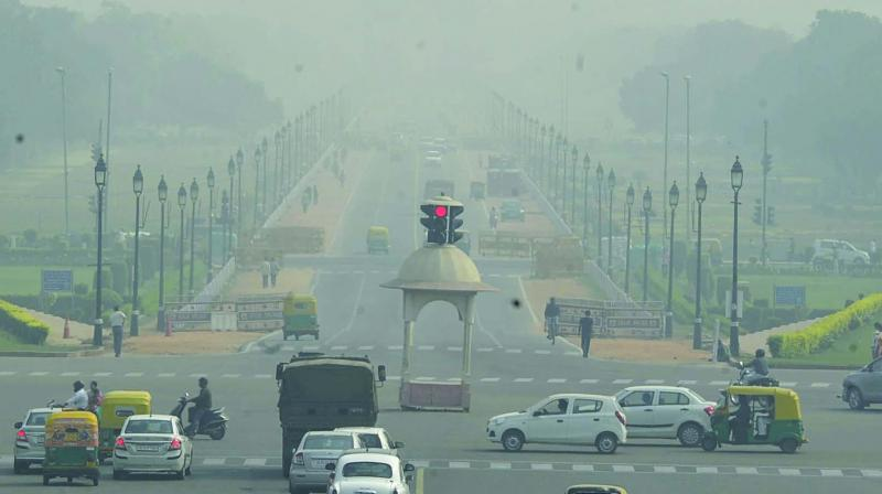 School students are finding it hard to commute with fall in visibility and air quality. (Photo: File | Representational)