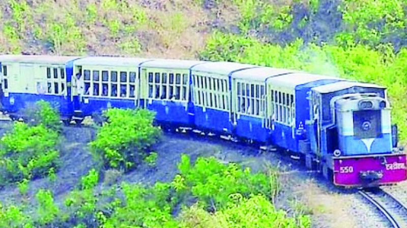 At present, the CR is doing a trial of diesel fire steam engine on the stretch of Matheran to Neral.