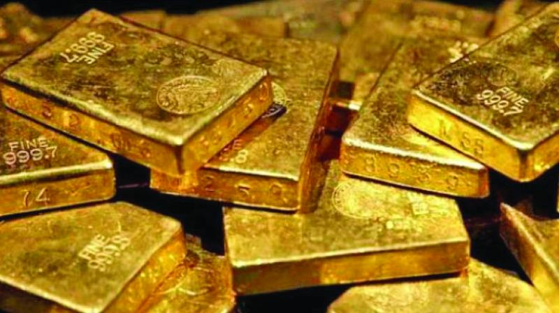 Globally, gold rose 0.44 per cent to USD 1,330.80 an ounce and silver by 0.55 per cent to USD 16.44 an ounce in Singapore.