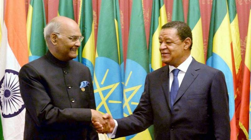 The Union Cabinet on Wednesday gave its ex-post facto approval to the trade agreement between India and Ethiopia.