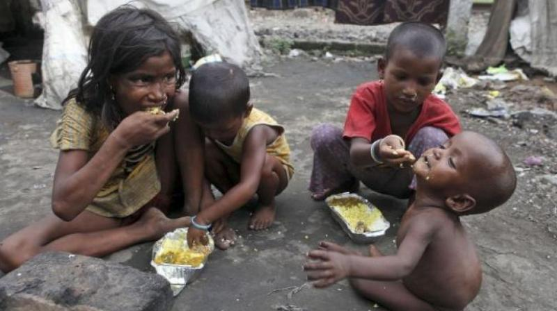'India experienced the fastest absolute reductions in the Multidimensional Poverty Index, which takes into account both incidence and intensity,' UN said. (Photo: Representational Image/File)