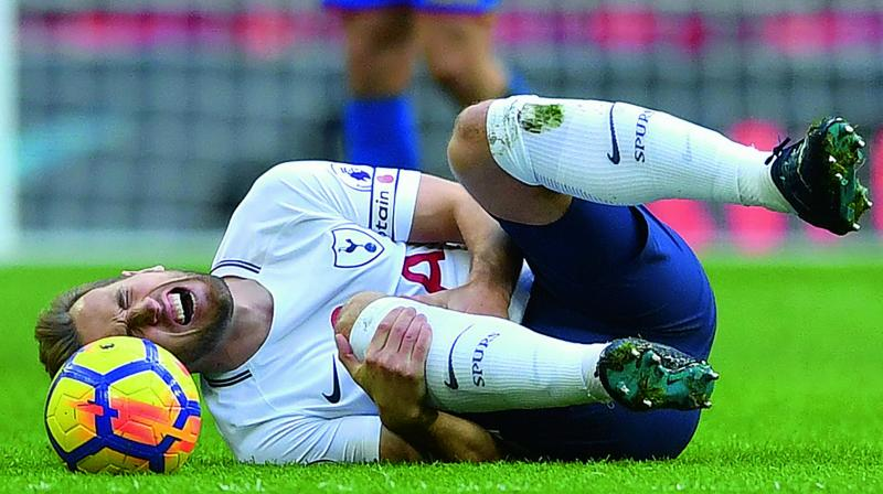 Harry Kane's inclusion will be a last min decision (Photo: AFP)