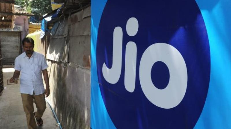 Reliance Jio alone added 77.93 lakh customers, taking its total subscriber base to 29.7 crore at the end of February. (Photo: AFP)