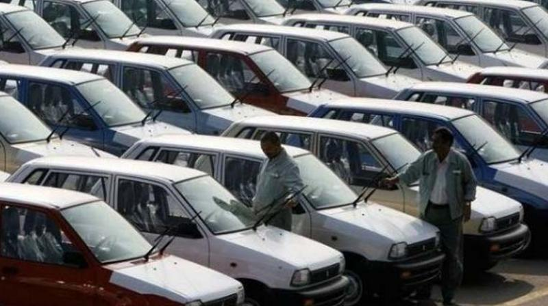 Vehicle sales across categories registered a decline of 2.97 per cent to 16,17,356 units from 16,66,878 units in December 2017. (Photo: PTI)