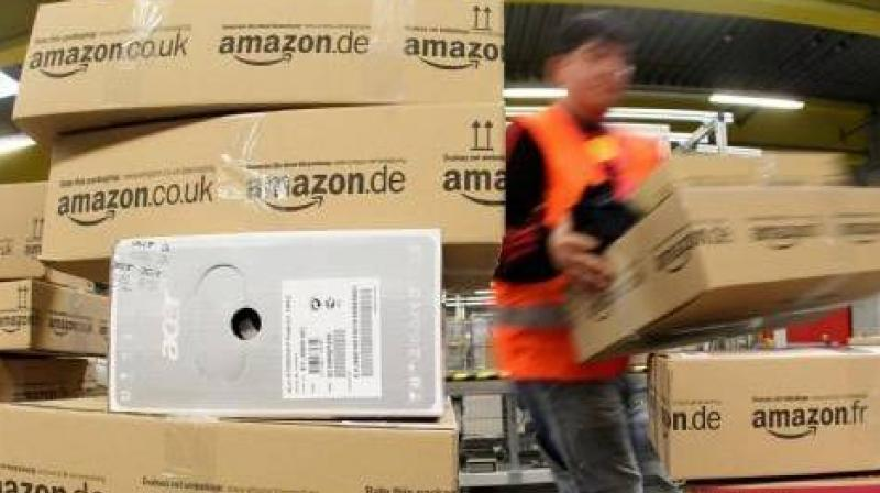 FIR has been registered against Amazon's country head Amit Agrawal, logistics firm Darshita Pvt Ltd directors Pradeep Kumar and Ravish Agrawal and delivery boy Anil, the police said. (Representational Image | AFP)