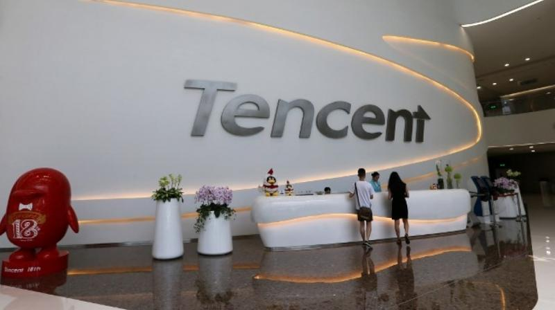 Tencent is China's largest mobile software company, and owns WeChat, the nearly ubiquitous social network. (Photo: AFP)