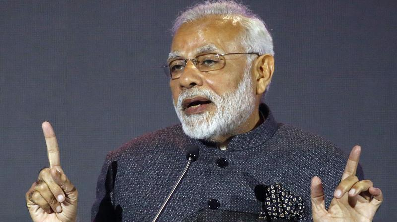 Modi continues to be the most followed Indian on Twitter. (Photo: PTI | file)