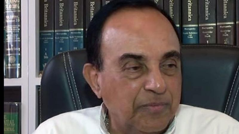 'The person Harsimrat Kaur is thinking of is Rahul Gandhi. Certainly, Rahul will fail the dope test as he takes cocaine,' Swamy told ANI. (Photo: ANI)
