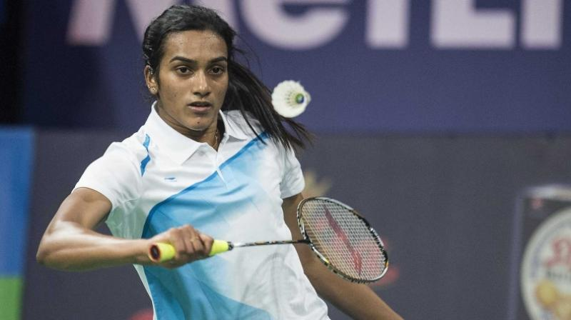 The fourth seeded Taipei's player defeated Sindhu 21-15, 21-17. (Photo: AFP)