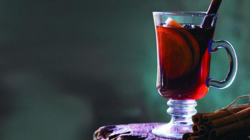A more elaborated version of usual red wine is the mulled wine that has also become an inexplicable part of various celebrations in different parts of the world. (Photo- Sony Dinesh)