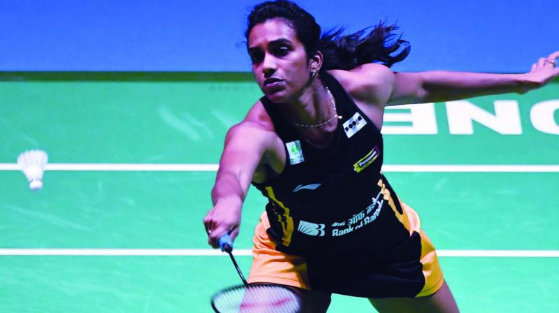 The 24-year-old PV Sindhu dropped her first game of the tournament, but she made a remarkable comeback in the second game. (Photo: File)