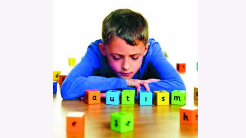 Children with autism struggle to form relationships and may have obsessive and repetitive behaviours.