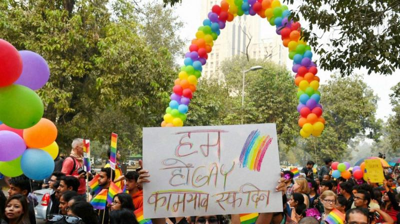 During the hearings, the Supreme Court had observed that stigma attached to 'gay sex' will be removed once the 'criminality attached to Section 377 of the IPC goes. (Photo: PTI)