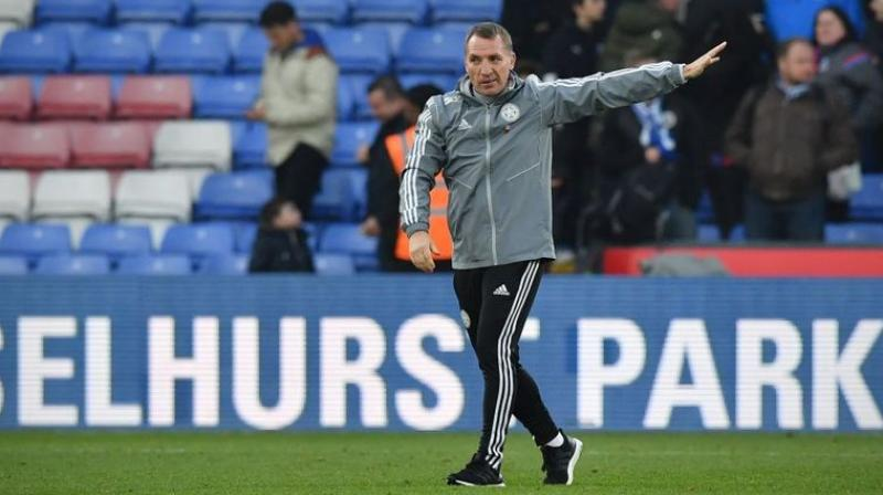 Leicester City underlined why they are considered credible title contenders with a sixth successive Premier League win on Sunday but post-match talk was dominated by whether or not manager Brendan Rodgers would stick around to lead the charge. (Photo:AFP)