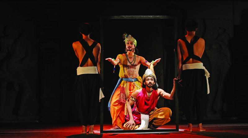 Scene from Karna Gatha
