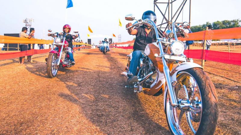 The festival will have around 280 biking clubs from across India and Asia, and over 130 exhibitors from the motorcycling world.