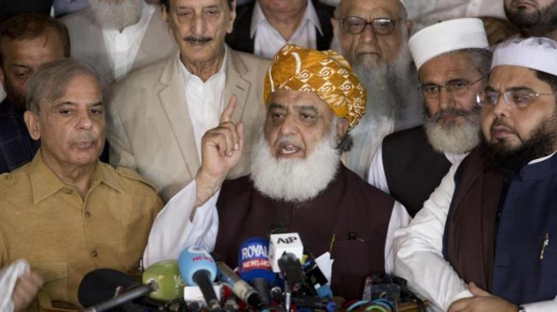 Maulana Fazlur Rehman (Photo: AP)
