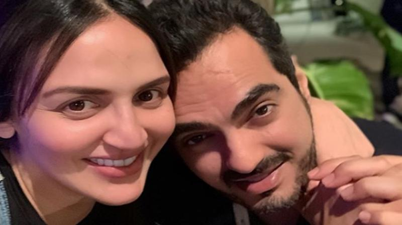 Esha Deol and Bharat Takhtani. (Photo: Instagram)