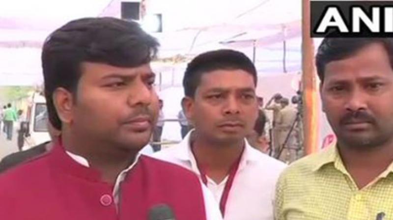 Gorakhpur MP Praveen Nishad (photo: ANI)