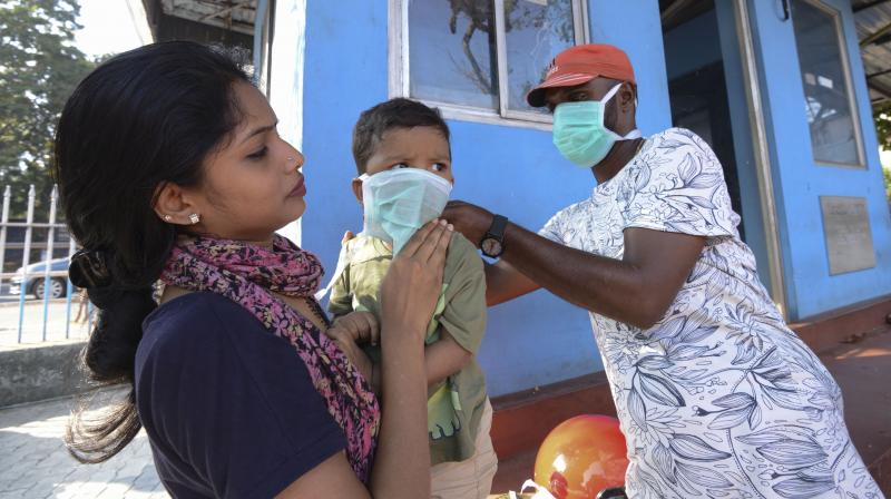 Hospital staff have been alert to the coronavirus after three positive cases were reported from Kerala.