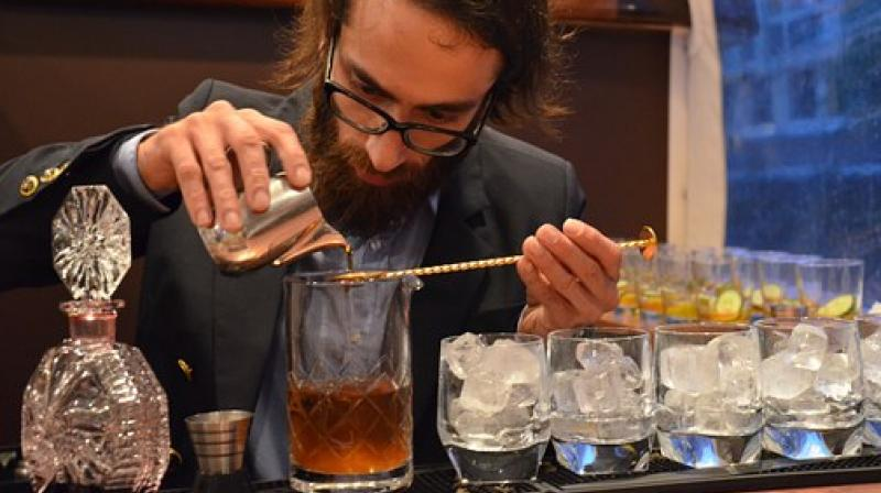 While one may think of preparing a drink as a cakewalk for a bartender, mixology involves a good chemistry of ingredients to dish out innovative and classic cocktails. (Photo: Pixabay)
