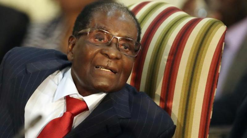 The 93-year-old Mugabe had clung on for a week after an army takeover, with ZANU-PF urging him to go. (Photo: AP)