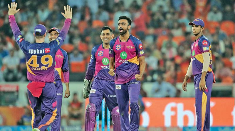 Rising Pune Supergiant will target a play-off spot when they take on Delhi Daredevils. (Photo: BCCI)