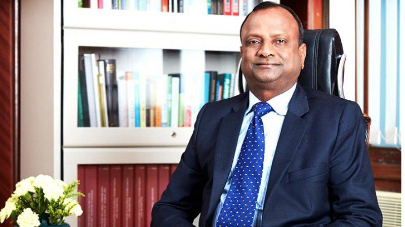 SBI's head Rajnish Kumar.
