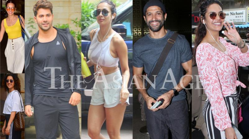 Stars in the city: Varun, Malaika, Farhan and others spotted in Mumbai