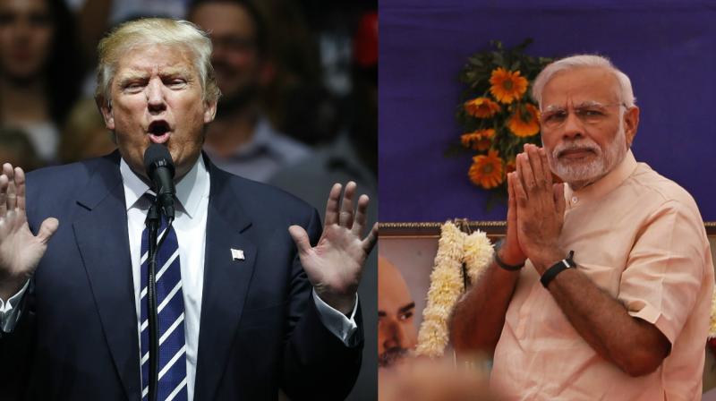 President-elect Donald Trump and Indian Prime Minister Narendra Modi. (Photo: AP/PTI)
