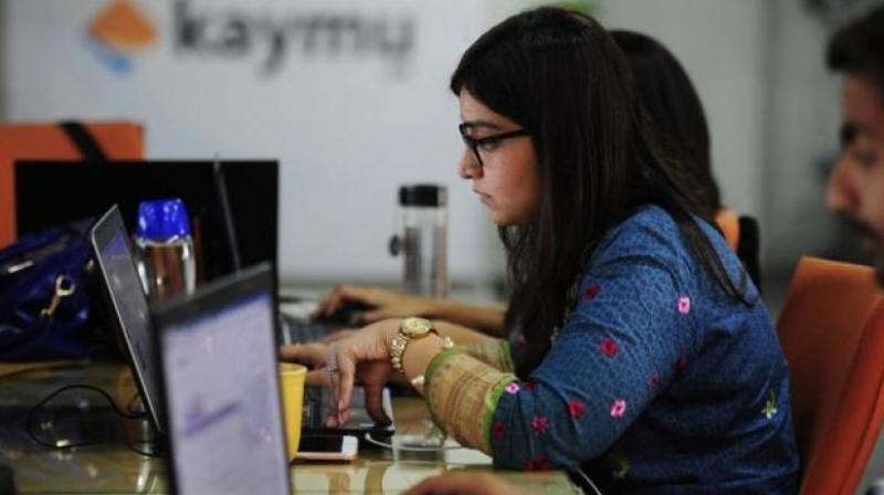 Previous research has suggested that women suffer from work-related stress more than men (Photo: AFP)