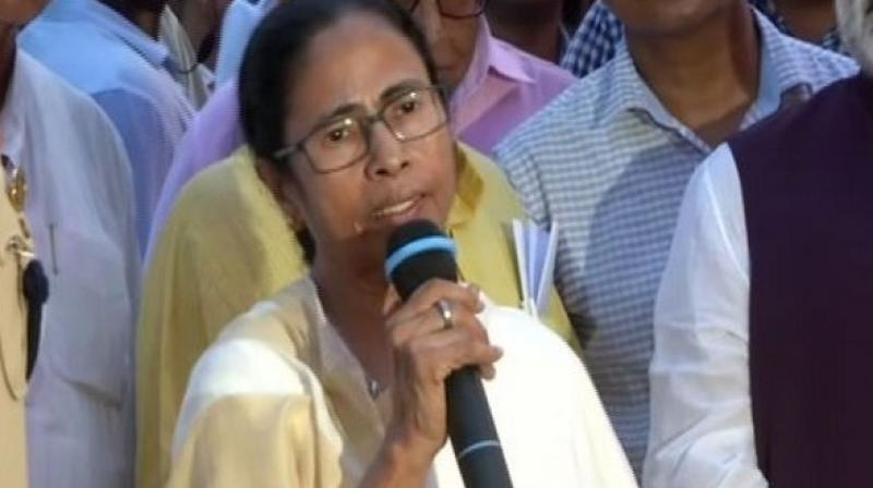 Asserting that peaceful protests will continue as long as the new citizenship law is not withdrawn, West Bengal Chief Minister Mamata Banerjee on Thursday warned the BJP against