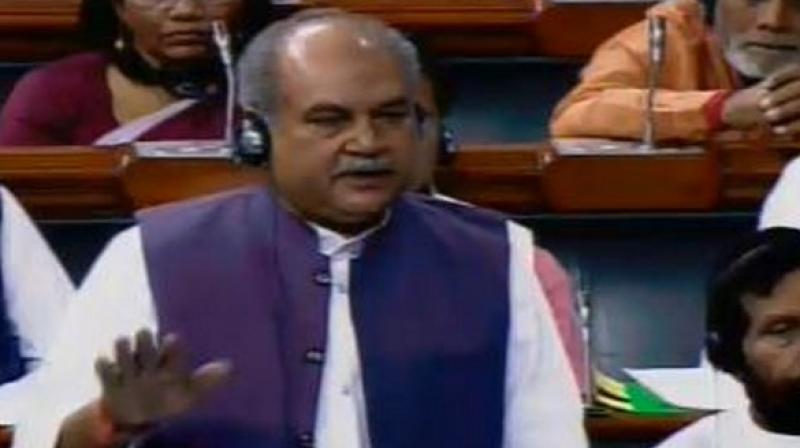 Union Agriculture Minister Narendra Singh Tomar said judicious use of pesticide and chemical fertiliser does not lead to any harmful effects and work on soil health cards was being done in mission mode under directions of PM Modi. (Photo: ANI)