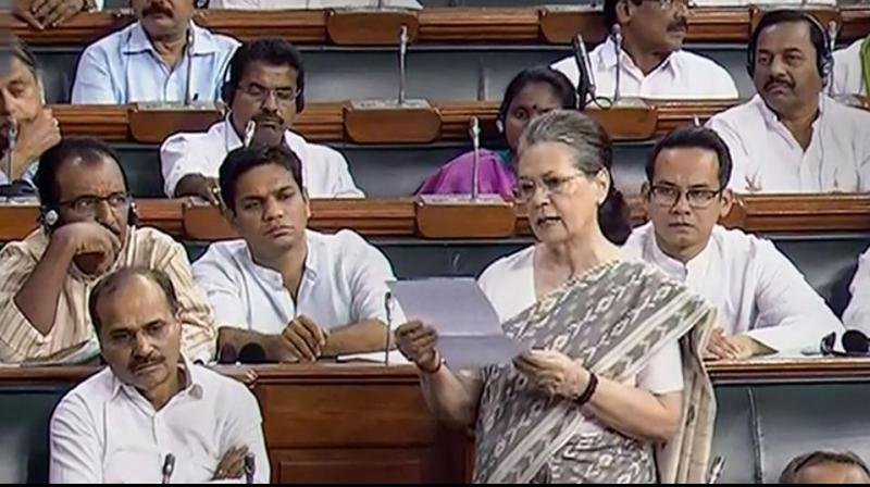 Sonia Gandhi said the future of 2000 workers remains uncertain due to the government's move. (Photo: PTI)