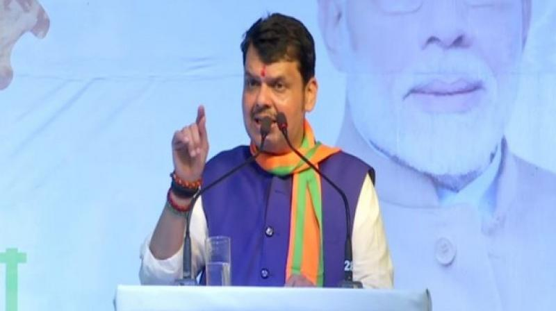 Devendra Fadnavis' remarks come a day after Sena president Uddhav Thackeray asserted that both the parties will contest the elections in alliance, and that an announcement on the seat sharing formula will be made in a couple of days. (Photo: ANI)