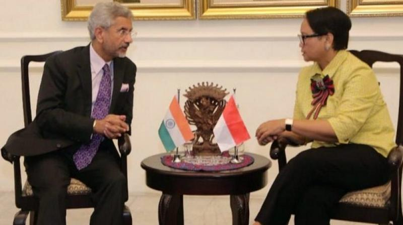 The two sides talked about the common challenges faced by their countries, as well as their mutual support for principles of territorial integrity. (Photo: ANI)