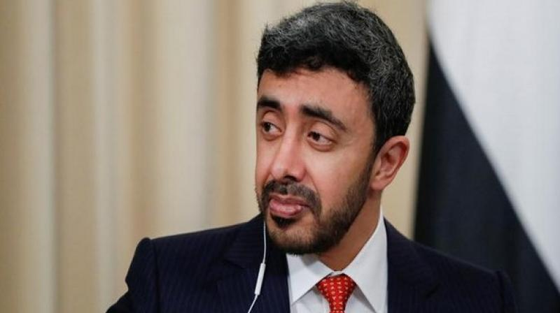 Foreign Ministers of the United Arab Emirates (UAE) and Saudi Arabia, Sheikh Abdullah bin Zayed bin Sultan Al Nahyan and Adel bin Ahmed Al-Jubeir respectively arrived to discuss the Kashmir issue that has been persistently internalised by Pakistan since India changed the constitutional status of the region. (Photo: ANI)