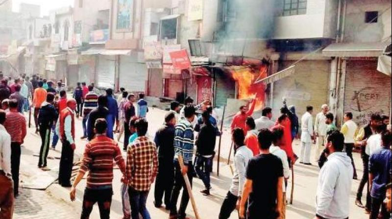 Incidents of violence and arson during the February 2016 agitation left 30 people dead and several injured. (Photo: PTI)