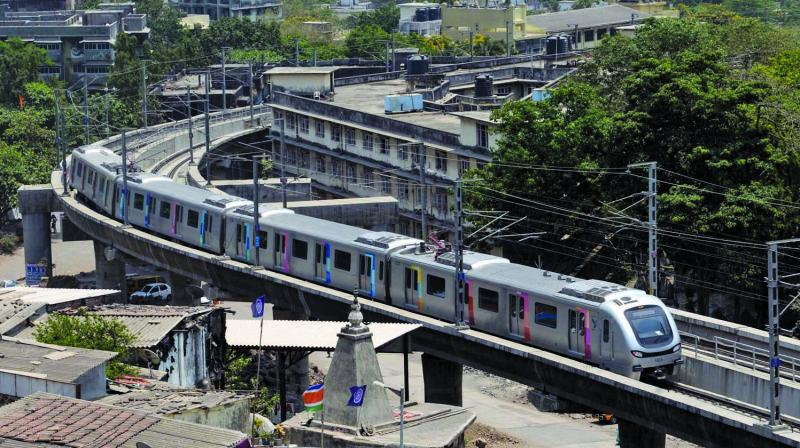 The Metro 2A and 7 are expected to be thrown open to the public by December 2019. The MMRDA had written to central ministry as well as the department of economic affairs (DEA) to seek assistance in the matter.