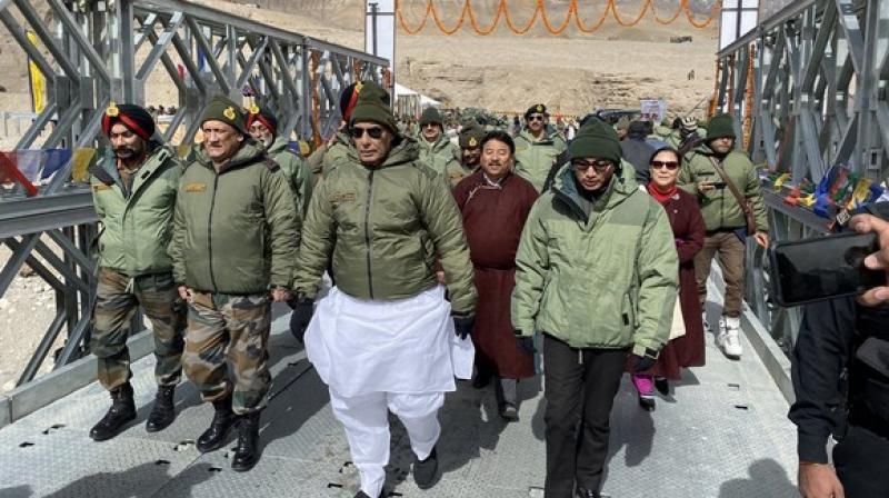 The Indian Army had moved a proposal for opening up Siachen to tourists with a focus to showcase the working conditions of troops serving in the sector, and the government gave its nod, according to sources. (Photo: ANI)