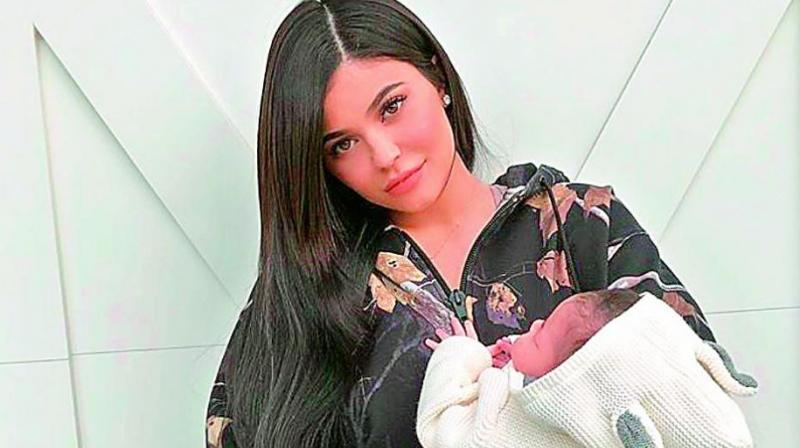 Kylie Jenner posted a series of sweet pictures with her daughter